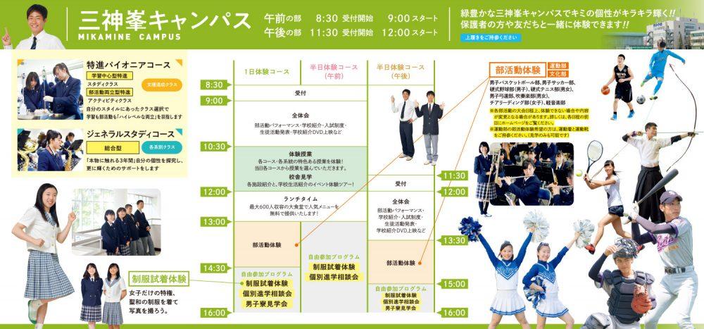 オープンキャンパス 2019 @ 三神峯キャンパス