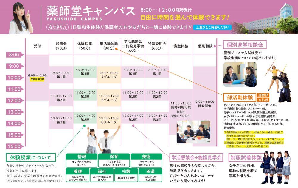 オープンキャンパス 2019 @ 薬師堂キャンパス